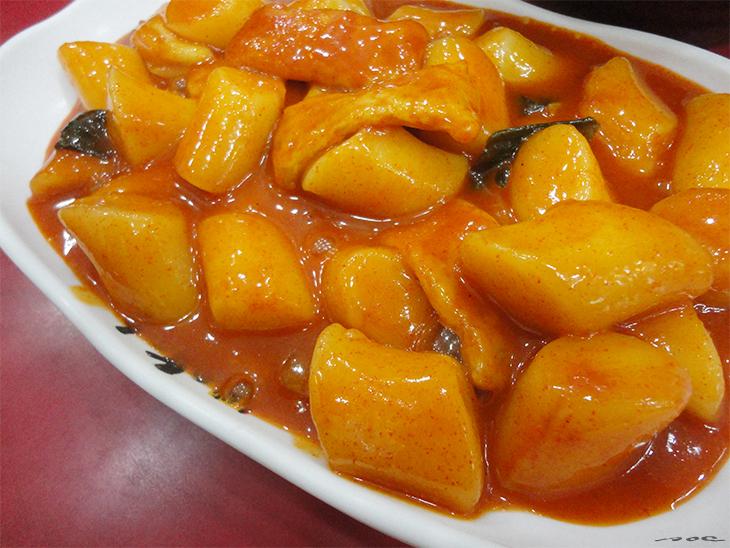 Ddukbokki, korean street food, korean food