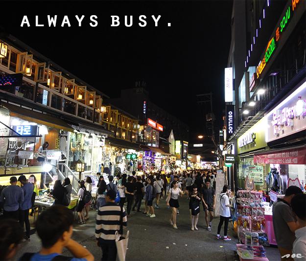 korea streets, streets on korea, south korea, asia, street life, night life