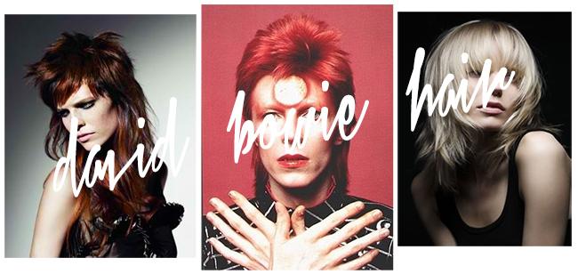 David Bowie Haircut